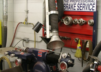 Brake Grinding Dust Collectors - Texas Electronics