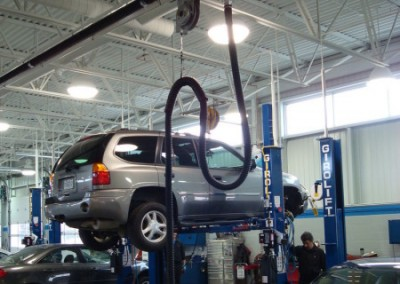 Vehicle Exhaust Extraction Systems - Spring Recoil Balancers - Texas Electronics