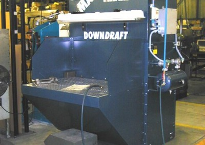 Downdraft Tables - Texas Electronics