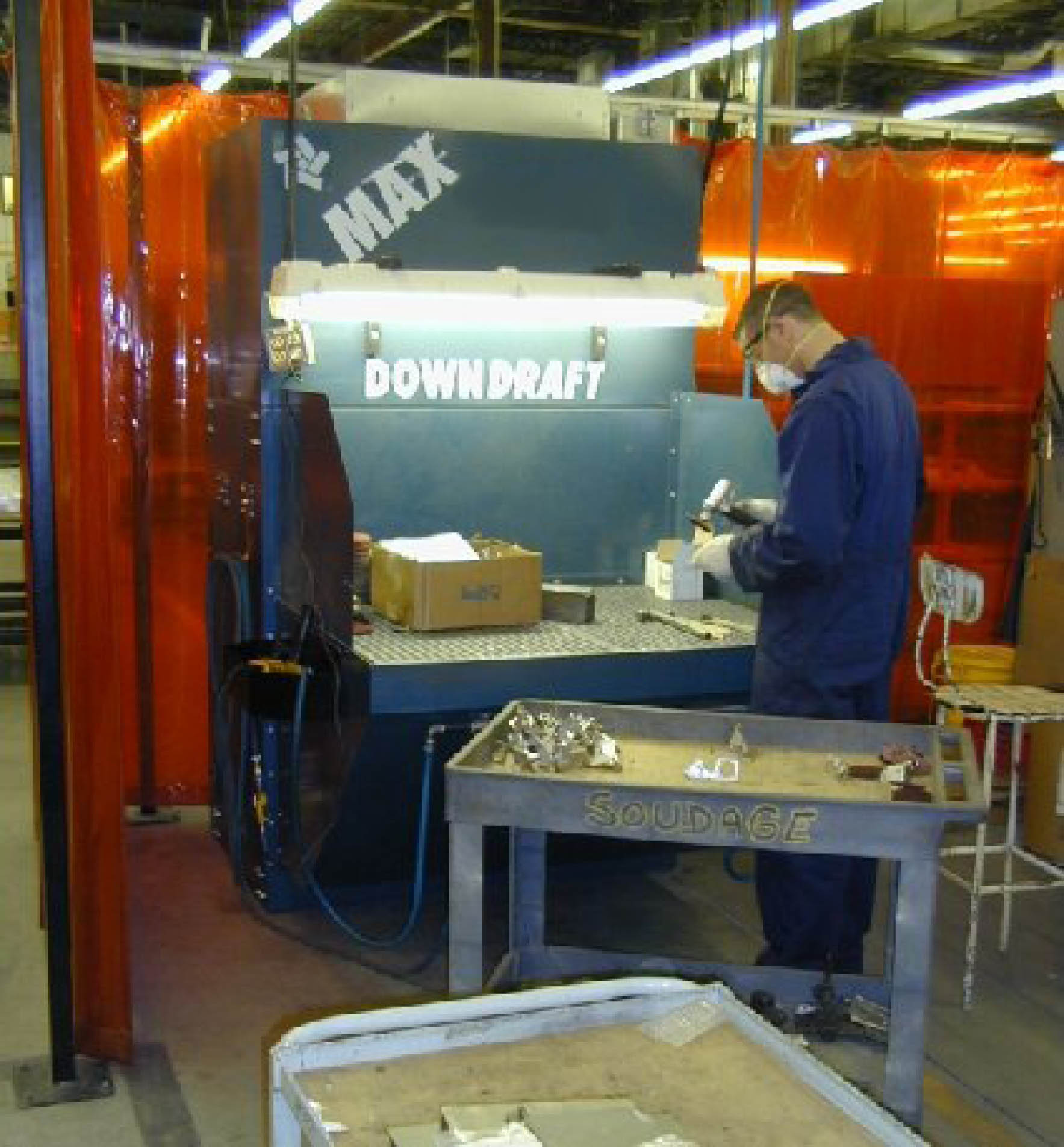 Downdraft Tables Grinding Dust Downdraft Tables | Texas Electronics Canada Inc.
