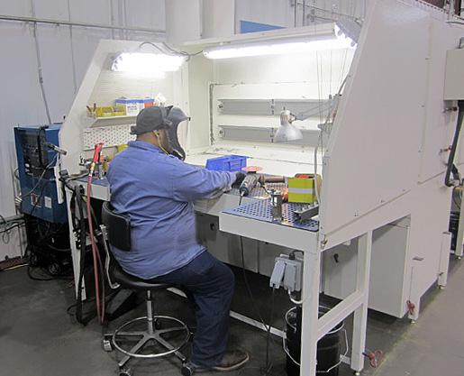 Downdraft Tables Texas Electronics Canada Inc