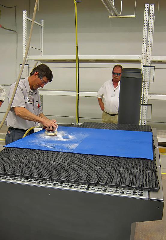 Downdraft Tables | Texas Electronics Canada Inc.
