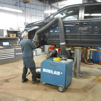 Brake Grinding Dust Collectors